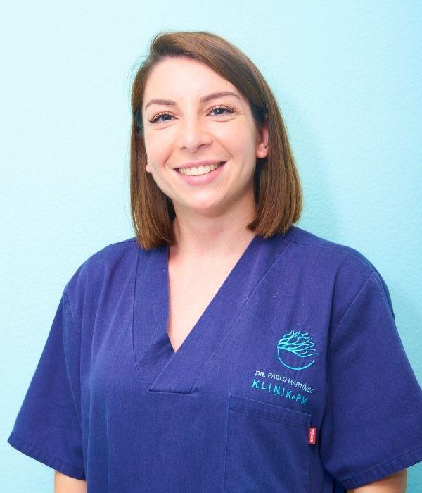 Natalia - Equipo de Enfermería | Klinik PM