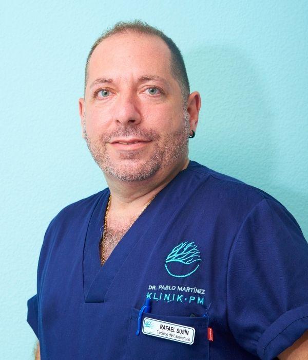 Rafael Susín - Técnico de Laboratorio